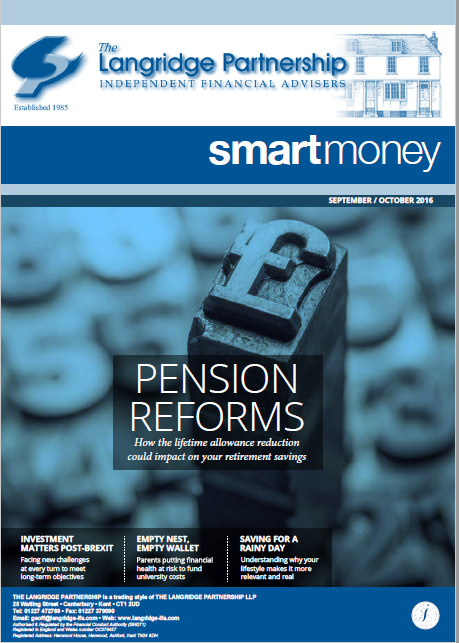 Pensions reforms - changes to Standard Lifetime Allowance